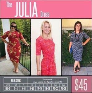 LuLaRoe Dresses - Lularoe Julia NWT dress L 12-14